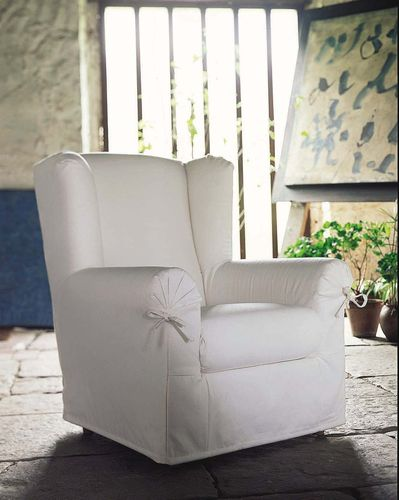 traditional wingchair HS-323D1 Silvy Signature Home Collection