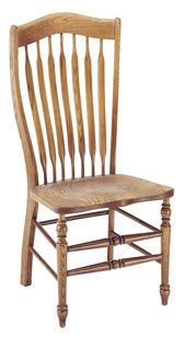 traditional wood chair SADDLE RIDGE NICHOLS & STONE