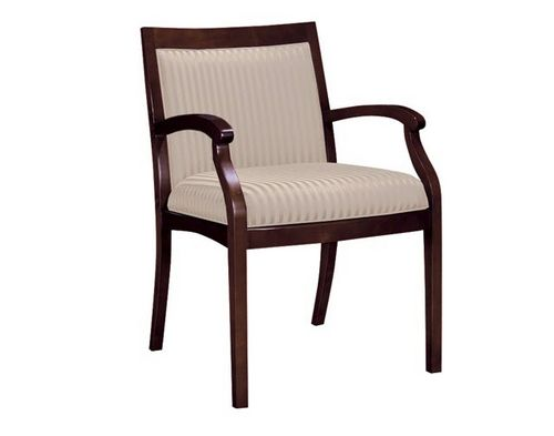 traditional wood chair with armrests NOBLE ofs
