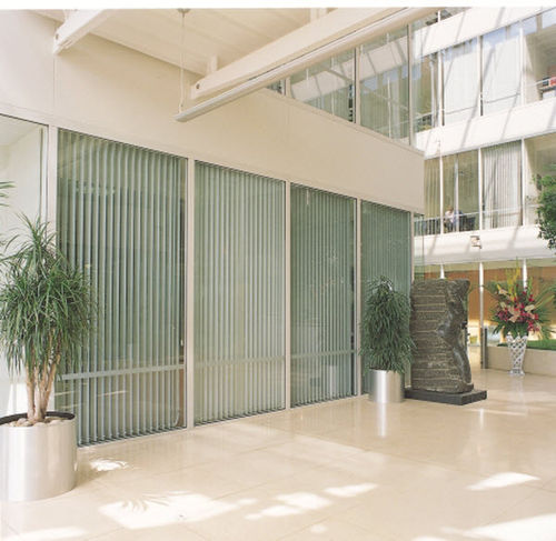 vertical sliding panel blind VERTICAL LOUVRE BLINDS Levolux