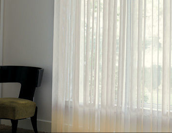 vertical sliding panel blind SHEER ELEGANCE  Avenue home