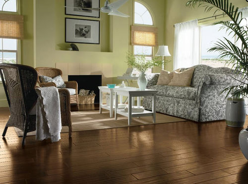 walnut engineered wood floor ALLSPICE Armstrong flooring - USA