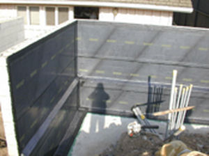 waterproofing and draining sheet ENVIROSHEET CETCO EUROPE