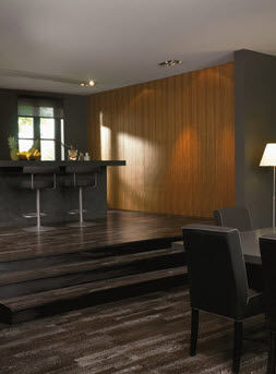 wenge engineered wood floor ECOFOREST : ETHNIC BERRY FLOOR