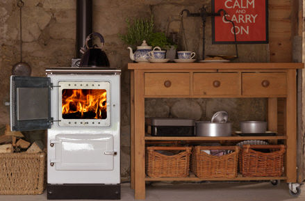 wood burning range cooker / boiler PLUS1 Esse