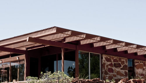 wooden patio canopy PRIVATE RESIDENCE RENOVATION, USA Accsys Technologies