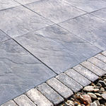 concrete paving slab / anti-slip / textured / outdoor
