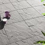 Concrete paving slab / textured / outdoor ONDÉANE ALKERN