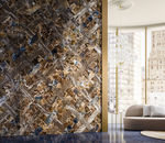 wooden wallcovering / residential / for offices / textured