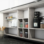 Standard shelving / produce / modular / not specified LOUNGE 03 by Enrico Cesana COMPOSIT