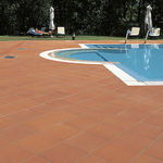 Poolside tile / for floors / terracotta / matte COTTO RUSTICO TerracottaItaly