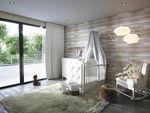 white children's bedroom furniture set / baby