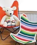 contemporary armchair / cotton / child's