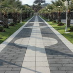 concrete paver / anti-slip / frost-resistant / high performance and load