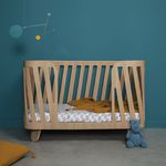 single bed / contemporary / baby / oak