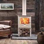 Wood heating stove / traditional / cast iron / steel THE BEMBRIDGE CHARNWOOD