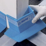 acoustic insulation / expanded polypropylene / for doors / self-adhesive
