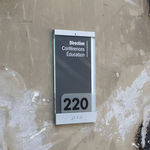 Door signage plate / wall-mounted / PVC / Braille PARIS  MARCAL