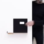 electric socket / quadruple / wall-mounted / metal