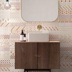 indoor tile / wall / ceramic / 25x75 cm
