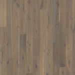 solid parquet flooring / glued / oak / natural oil