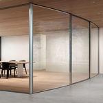 sliding patio door / metal / double-glazed