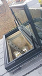 Metal smoke vent / glass / smoke and heat extractor  Cantifix