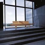 Public bench / contemporary / oak / beech TRIENAL Andreu World