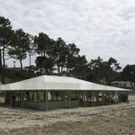 canvas architectural membrane / for tensile structures / roof
