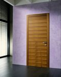 indoor door / two-way / wooden / flush