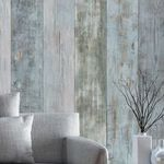 wall-mounted paneling / PVC / 3D / aged