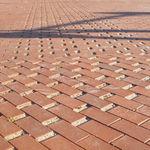 clinker paver / ceramic / pedestrian / for public spaces