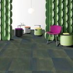 carpet tile / loop pile / nylon / commercial