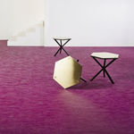 Vinyl floor covering / for professional use / textured / textured ARTISAN : FUCHSIA BOLON