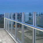 Aluminum handrail / with integrated LED lighting 10032 FAGERHULT
