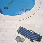 poolside tile / floor / sandstone / limestone