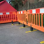 Pedestrian barrier / self-supporting / HDPE / manual CHAPTER 8 Algeco