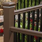 aluminum railing / PVC / glass panel / cable