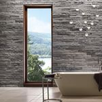 Stone wall cladding / interior / textured / decorative LEDGECUT33® : BEACH PEBBLE Eldorado Stone