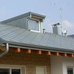 semicircular roof gutter / zinc