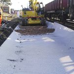 reinforcement geogrid / for foundations / composite