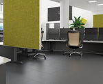 interior fitting acoustic panel / for ceilings / for interior walls / wooden