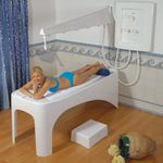 Vichy shower / hydromassage / plastic / horizontal