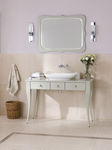 Wall-mounted mirror / classic / rectangular / in wood LEVANTO Victoria + Albert