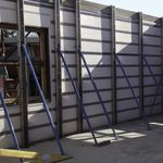high-resistance concrete / self-consolidating / security / for enclosure walls