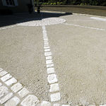 concrete flooring / for public spaces / road / residential