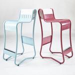 standard highchair / metal / for restaurants