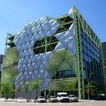 steel cladding / Texlon® ETFE / 3D / panel