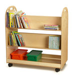 Mobile shelf / contemporary / wooden / nursery TRUCK Jonti-Craft, Inc.