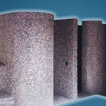 expanded polystyrene (EPS) shower cubicle / fiberglass / for spas / for public sanitary facilities